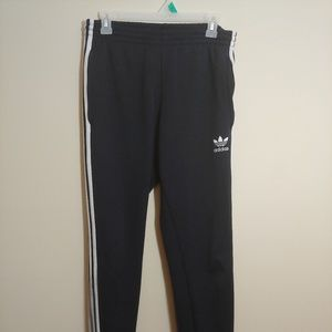 Adidas 3 strip jogger pants